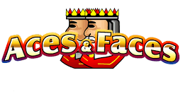 Aces Faces Poker logo.