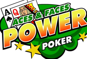 Aces and Faces 50 Play Power Poker-Canada
