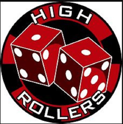 High roller casino dice and chips