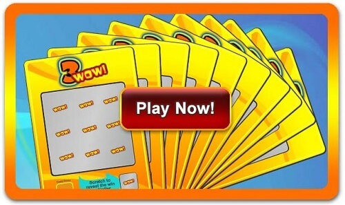 Multiple online scratch cards