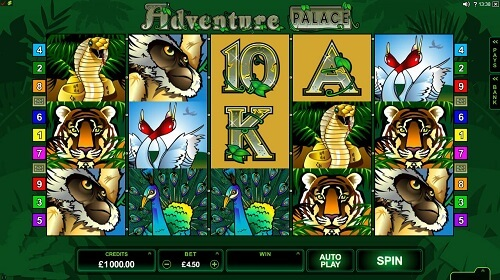 Adventure Palace Top Canadian online Slot