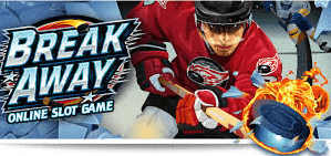 Break Away online slot in Canada.