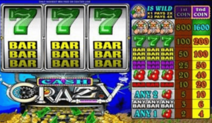 Cash Crazy Online Casino Games in canada