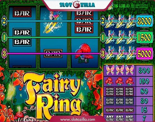 Fairy Ring online slots game