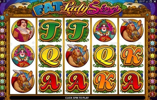 Fat lady sings online slots casino game