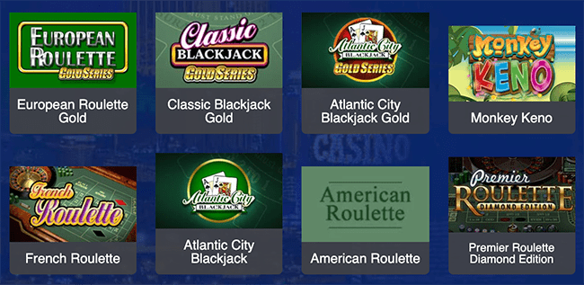All Slots Table Games