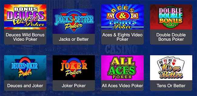 All Slots Video Poker