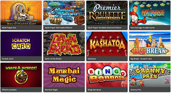 Euro Palace Variety Games