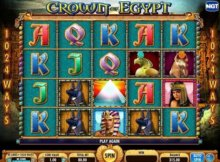 Crown of Egypt Big Canadian Jackpot wins