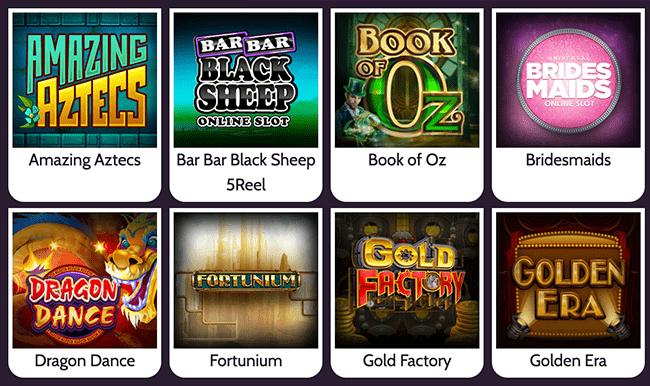 Mummys Gold Top Games