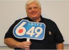 Calgary lottery winner Derek Maher