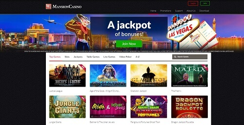 Mansion casino great welcome bonuses