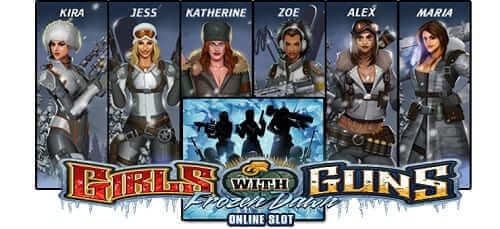 Frozen Dawn - Girls with Guns Machine a sous Canada