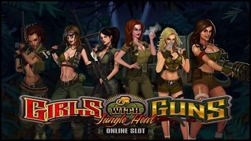 Top Machine a sous en ligne -Girls with guns