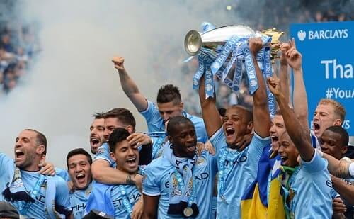 Manchester City champion de la League anglaise de football
