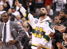 NBA Playoffs_Drake