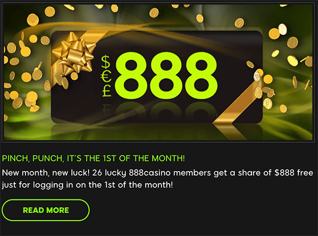 888 First of the Month