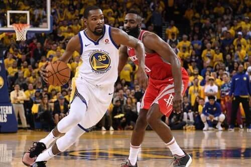 NBA match 6 entre les Golden State Warriors contre les Houston Rocket