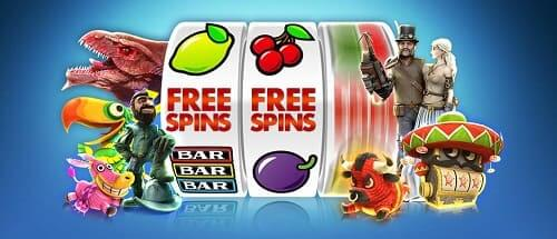 Free Spins sur slot machine payante