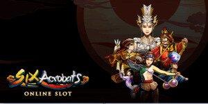 Six_Acrobats_Slot_Logo