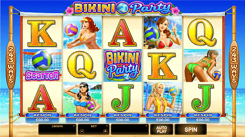 Bikini-Party-Machine a sous