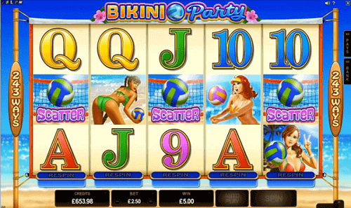 Bikini Party Slot - Symbole Scatter