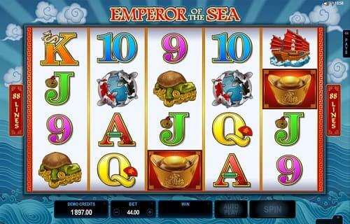 Online slot Emperor of the sea - Mricrogaming