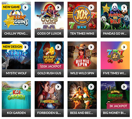 Slots.lv Popular Games