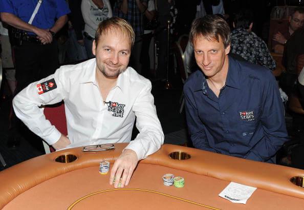 Daniel Negreanu is Canada's top earner poker pro.