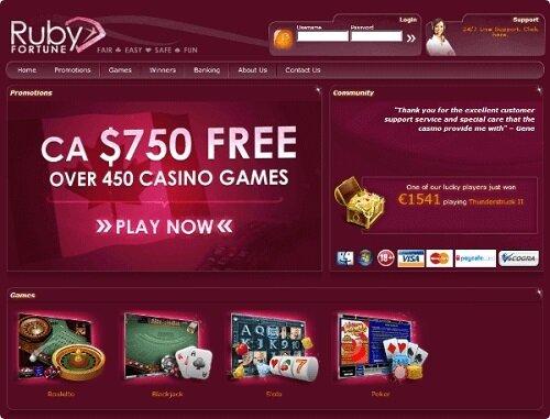 Ruby fortune casino 2020 bonus gratuit de c$750 vegas slots online free machine