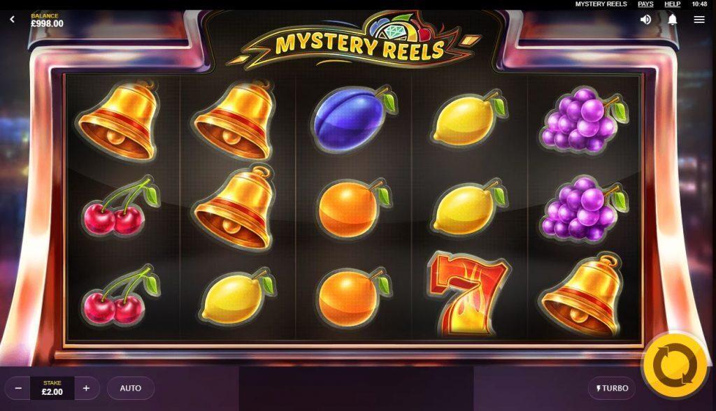 Screenshot of Mystery Reels slots