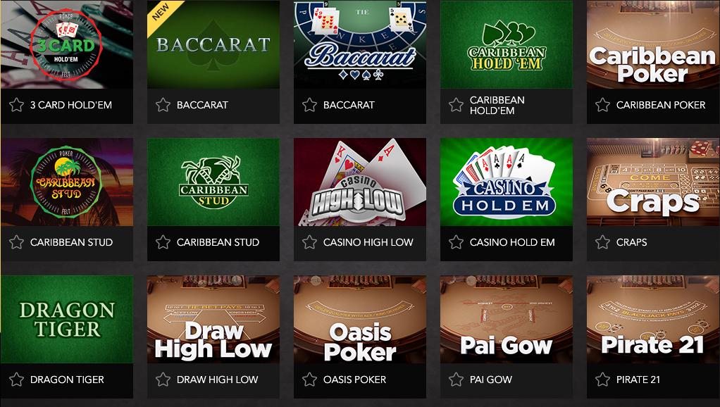 Las vegas online gambling sites