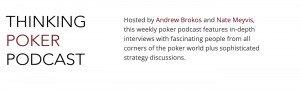 Thinking Poker Podcast
