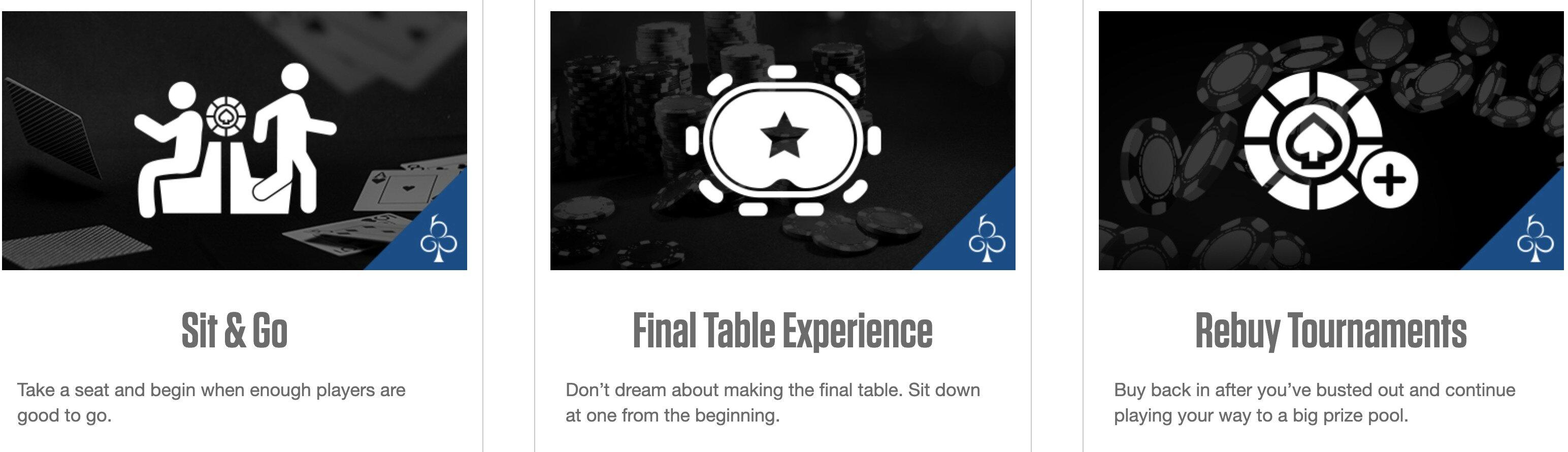 Black Chip Poker Tournaments
