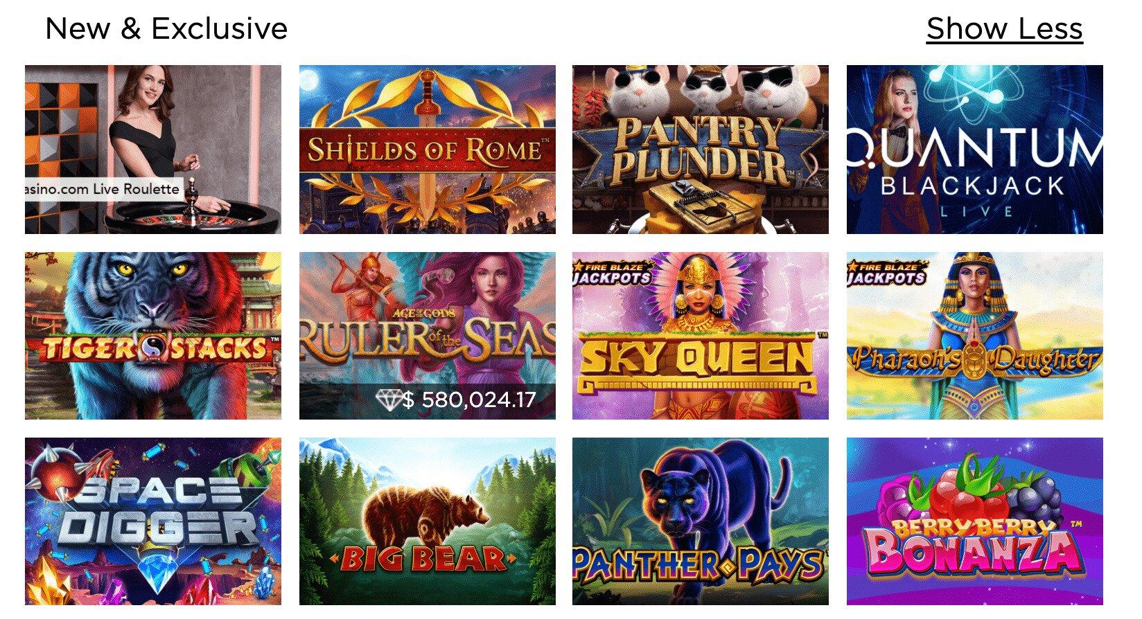 Casino.com New Games