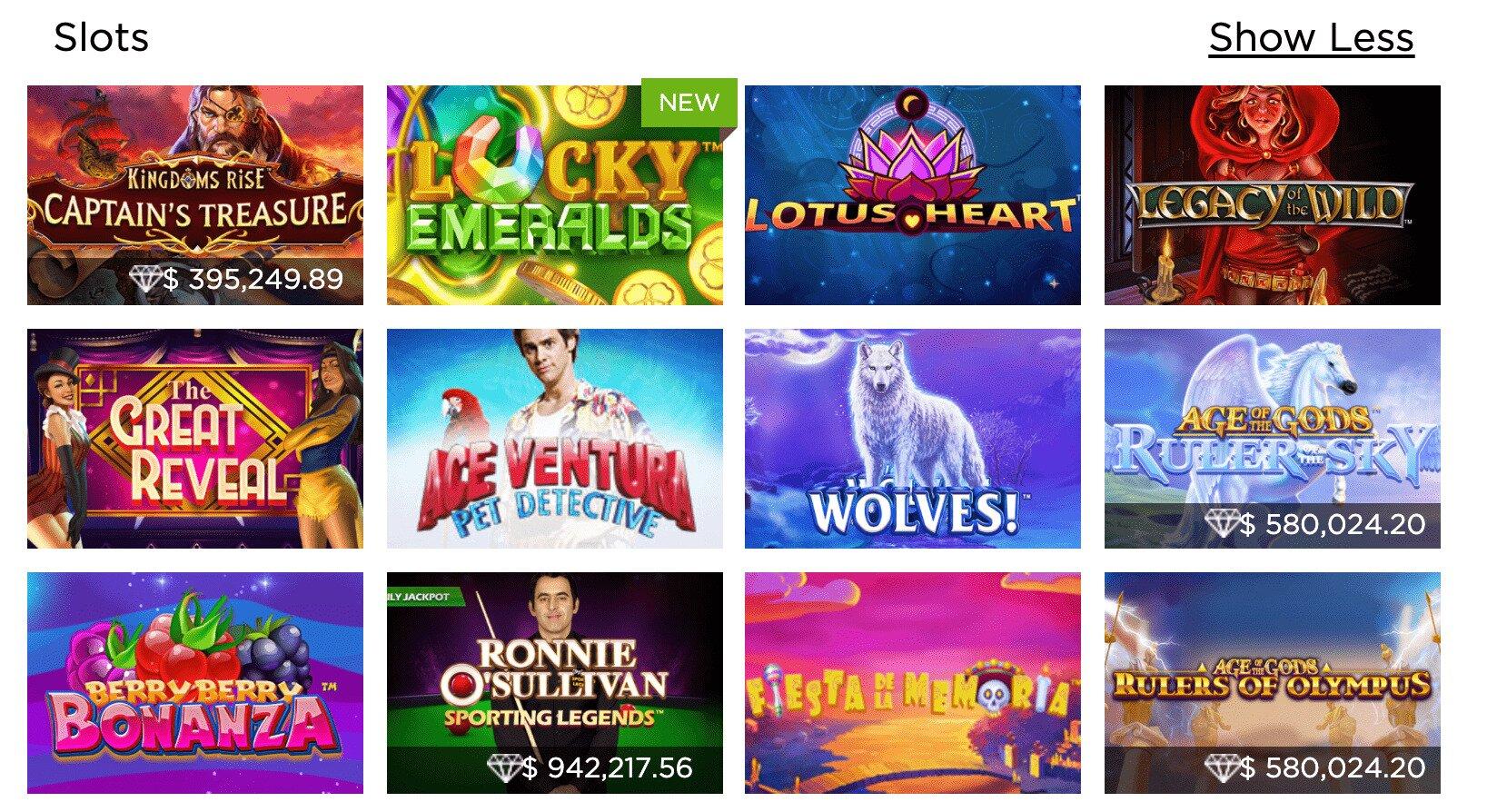Casino.com Slot Games