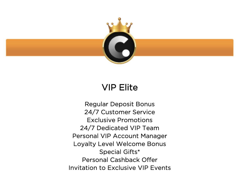 Casino.com VIP Program