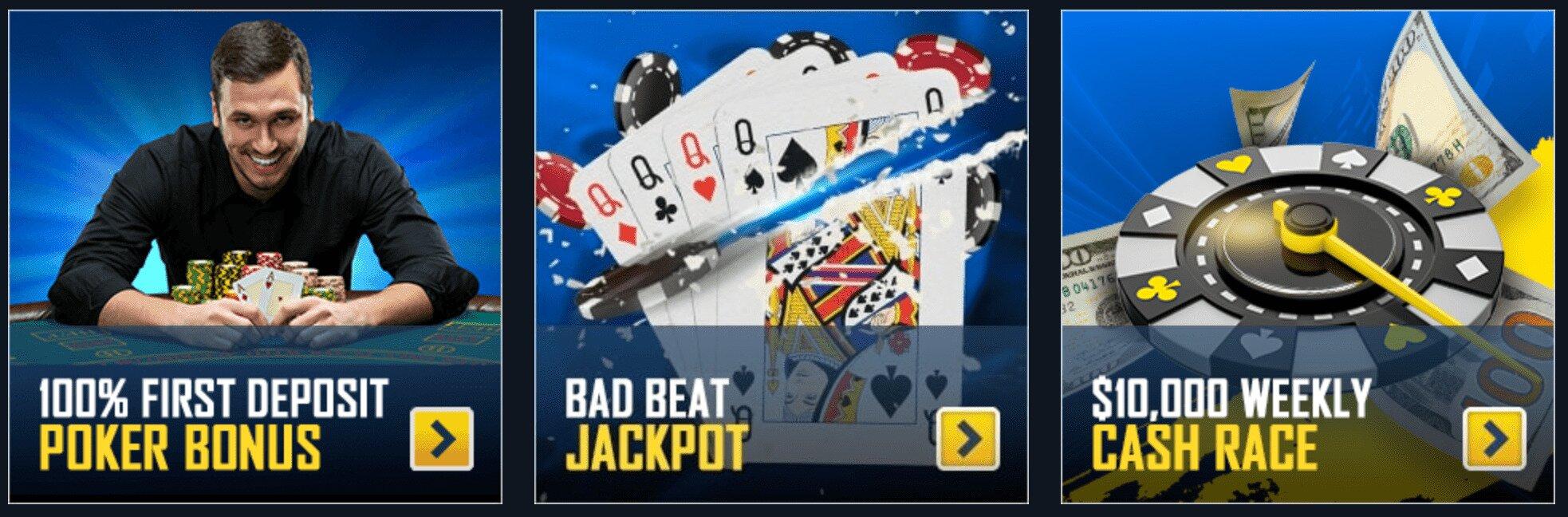 SportsBetting Poker Bonuses