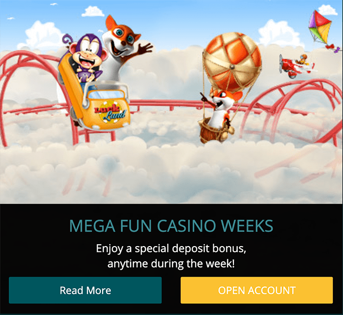 Luckland Casino weeks