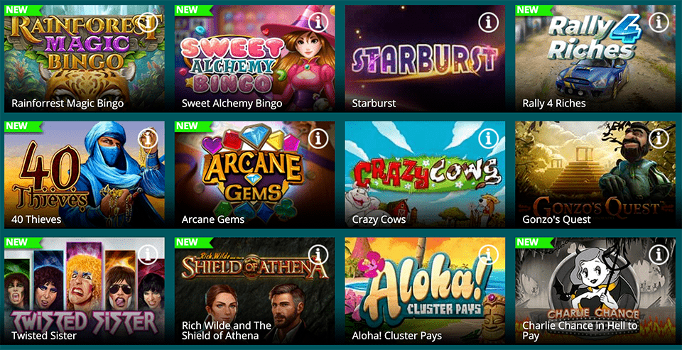 Luckland slot games