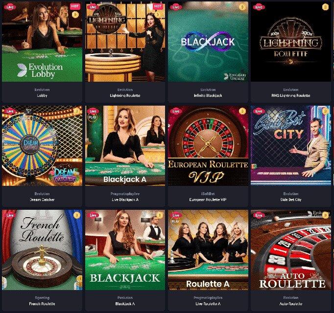 Best live blackjack