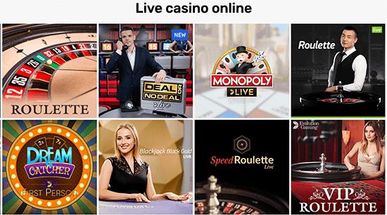 Crazy Fox Live Casino