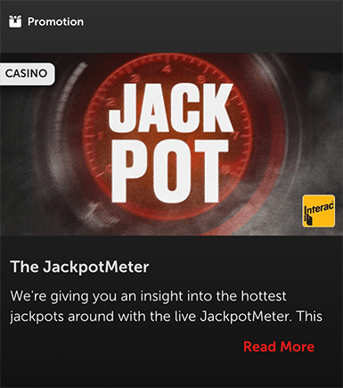 Betsafe JackpotMeter