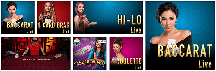 Casino Tropez Live Games