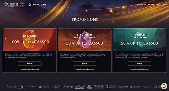 QueenSpins Promo