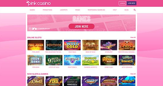 Pink Casino Games